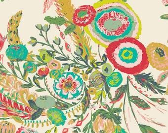 KNIT - Art Gallery Fabrics - Millie Fleur by Bari J. - Microburst Tropics