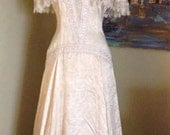 Jessica Mc Clintock Silk Dress Casual Wedding 50% Off was 100.00 now