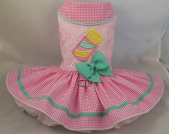 Dog dress.Popsicle by Poshdog. Tutu skirt.