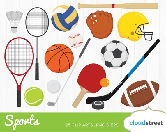 free clipart of sports equipment - photo #10