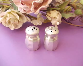Nice Little Vintage Sterling Silver Salt and Pepper Set by Lord Silver