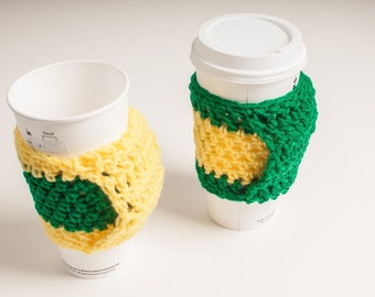Oregon Sports Pair Coffee Cup Cozy, Handle, Warmer