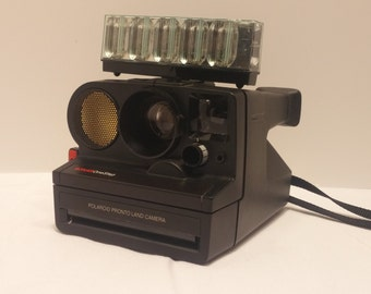 Vintage Polaroid Sonar OneStep Pronto Land Camera - SX70 film widely available  - Working - Artist Camera, Instant Film, Instant Photos