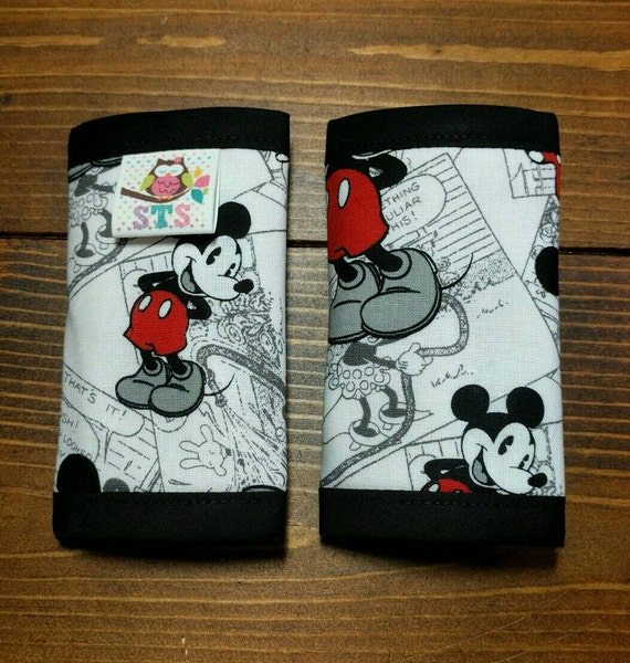 Mickey Mouse Car Seat Strap Covers