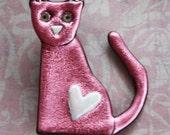 Valentine Kitten in Pink Friendly Plastic