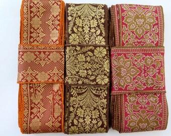 Silk Sari borders, Sari Trim SR379