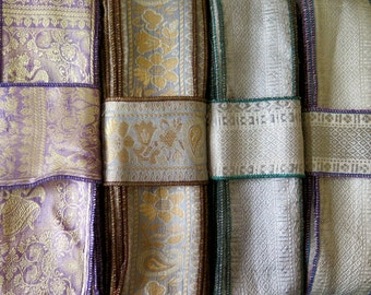 Silk Sari borders, Sari Trim SR466
