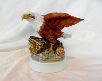 American Bald Eagle Figurine Birds in Flight Porcelain Ltd Series