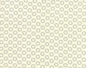First Crush - Circle of Love in Natural - Sweetwater for Moda Fabrics - 5606 16 - 1/2 yard