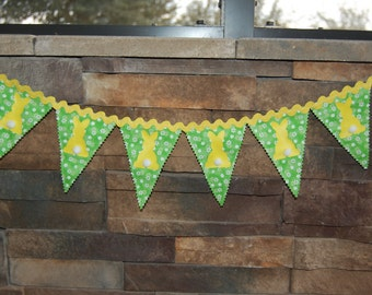 Easter-Spring Bunny Bunting