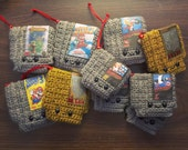 Retro Video game NES Cartridge Crochet PATTERN Nintendo Christmas Ornament