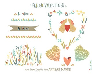 Fabled Valentines Clip Art