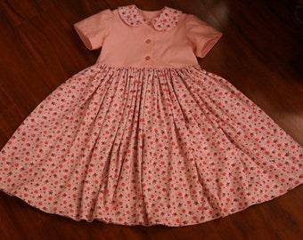 SALE! READY to SHIP Girls Cotton Summer Twirl Dress