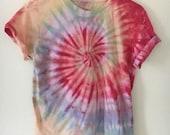 Unisex tie dye t shirt