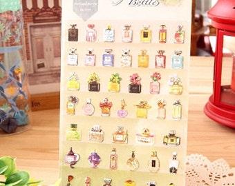 Diary Scrapbook Daisyland Sticker Label Perfume