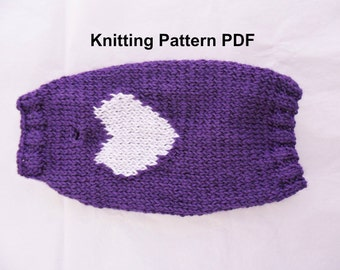 Knitting Pattern Large Dog Sweater : Easy dog sweater knitting pattern for medium and large dogs