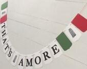 Italian Theme Party Banner