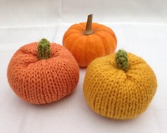 Halloween Pumpkin knitting pattern