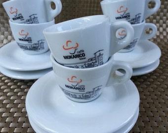Italian Espresso Cup Set, Torrefazione,