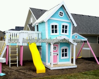 Our Dollhouse Playset!  by Imaginethatplayhouses.com