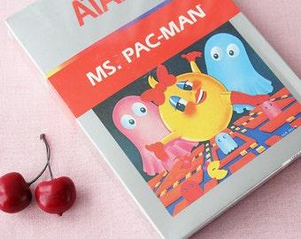 1988 ATARI 2600 Ms. Pac-Man New in Box