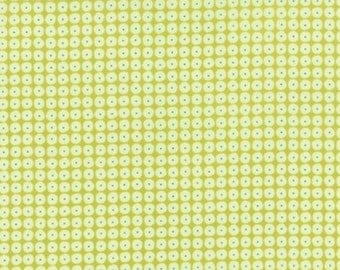Flow by Brigitte Heitland for Zen Chic and Moda - Pearls - Light Green - Apple - 1/2 Yard Cotton Quilt Fabric 516