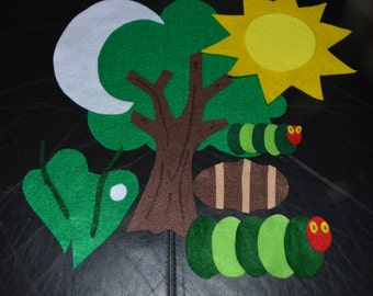 The Hungry Little Caterpillar Felt Story