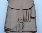 WWII Despatch Riders Map Case British Army Map Case WWII Map Case Vintage Military Vintage Leather Case