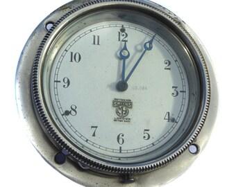 Antique Smiths Car Clock Vintage Time Piece Vintage Automobilia Vintage Car Dashboard Instrument Vintage Clock