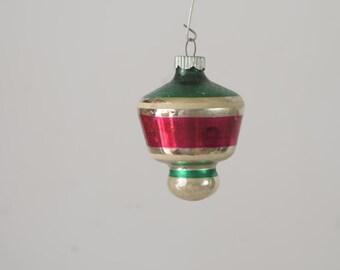 Vintage Christmas Ornament Glass Christmas Ornament 383