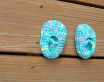 Gumdrop Booties, Crochet Baby Shoes, Baby Booties, Baby Girl Item, Baby Boy Stuff, Strap Booties, Newborn Infant Shoes, MADE to ORDER