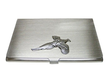 Pheasant Bird Business Card Holder