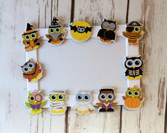 Halloween Owls Themed Craft Kit Magnet Craft Costume Party