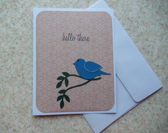 Hello There - blue bird