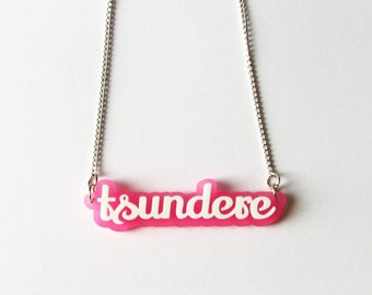 Frosted Tsundere Necklace (More Colours Available)