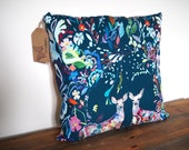 Beautiful Floral Cushion / Pillow. Decorative Pillow Cover 18 inch Cushion Cover