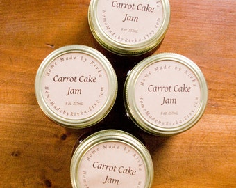 Carrot Cake Jam in 8 oz