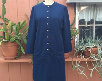 Straight Cut Vintage Dress