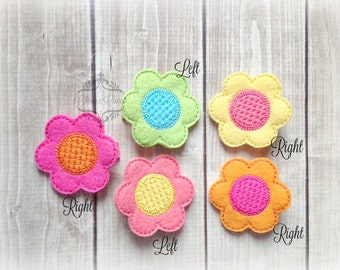 Flower hair clip Spring clip Spring Flower hair clip. Pick Left side or Right.