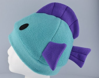 Fleece Fish Hat