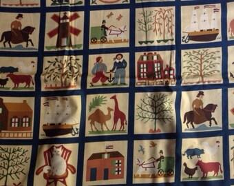 Americana From alucinda's Window Andover Fabric half yard
