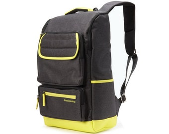 Line Point Backpack  (Yellow line)