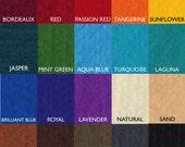 100% Merino Wool Prefelt, 19.5 micron. Over 15 colors. Felting Material. Felting Supplies.
