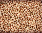 11/0 TOHO seed beads 10g Toho beads 11/0 seed beads Permanent Finish Rose Gold 11-PF551 Opaque