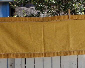 Country Golden Yellow Table Runner 70 in Long