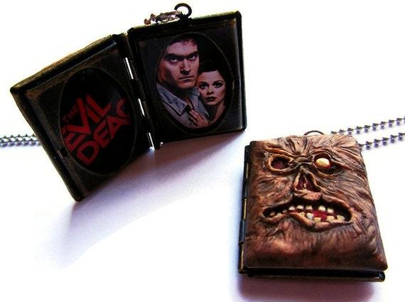 The Evil Dead 2 DVD cover - Necronomicon Locket - One in Stock!!!