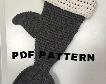 PDF Pattern Shark Stocking