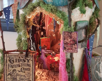 Gypsy Fairy Fortune Teller Tent