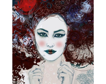 Geisha I - Limited edition print