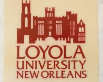 Loyola University New Orleans Coaster